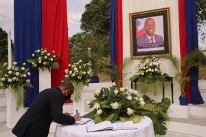 Arrestaron al coordinador de seguridad del asesinado presidente de Haití