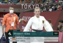 ¡Insólito! Entrenador alemán abofeteó a su judoca antes de un combate en Tokio (Video)