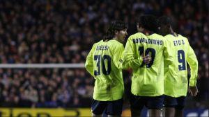 """""""Yo no jugué con Messi, él jugó conmigo"""": La polémica frase de Eto'o sobre el argentino"""