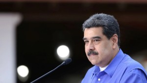 Britain sanctions Venezuelan President Maduro's envoy Saab
