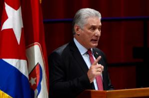 """Díaz-Canel se hizo la víctima en la ONU y denunció la """"instigación permanente"""" de EEUU"""