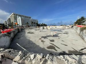 ¡Sin escombros! Las FOTOS que muestran cómo luce el área donde se encontraba el edificio derrumbado de Miami