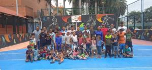 "Mientras el chavismo ""revive"" a Carneiro, sociedad civil reinauguró cancha deportiva de Sorocaima"