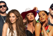 """¡Atrevidos! Los súper productores Play -N- Skillz unieron las voces de Thalía, Becky G y Chiquis Rivera en """"Baila así"""""""