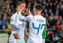 Manchester City se paseó con goleada al Brujas en Liga de Campeones