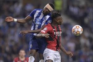 Milan encajó en Portugal su tercera derrota consecutiva en Champions