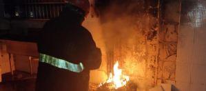 Indigentes habrían causado incendio en el comedor de la ULA (Fotos)