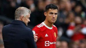 Problemas en el Manchester United: Salió a la luz una discusión de Cristiano con Solskjaer