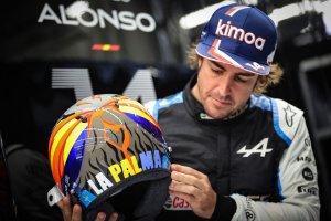 Fernando Alonso y su especial homenaje a La Palma (FOTO)
