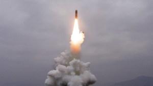 Corea del Norte probó nuevo misil balístico lanzado desde un submarino