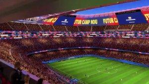 El megaproyecto del Barcelona para renovar el Camp Nou (Video)