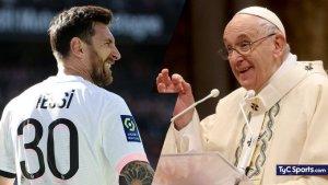 El regalo sorpresa de Leo Messi al papa Francisco (FOTO)