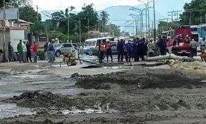 Colapso de tubo matriz, aguas servidas y diésel dejaron caos y damnificados en Lara (FOTOS)