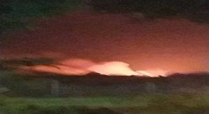 Explotó una tubería de gas de la planta compresora de Güico al sur de Anzoátegui